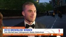 Tom Mitchell wins Brownlow Medal