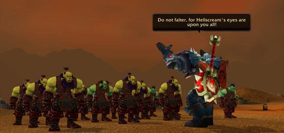 Know Your Lore: Honor, Krom'gar. Never forsake it.