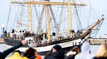 Schüler kehren nach halbem Jahr auf Segelschiff zurück