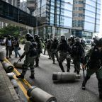 "Multiple arrests in Hong Kong as ""flashmob"" protests hit pro-Bejing targets"