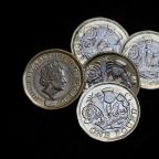 Stocks rise on trade optimism, pound strengthens