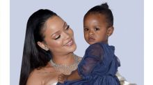 Rihanna and Her Niece Share a Bathtub Kiss — and It's Making People Mad