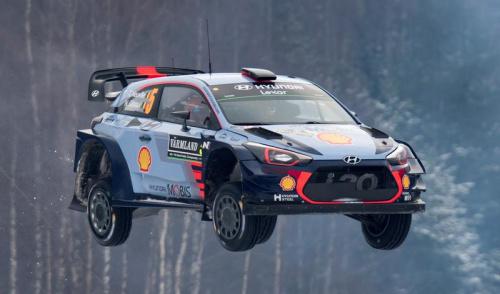 Thierry Neuville arrache le Rallye d'Argentine