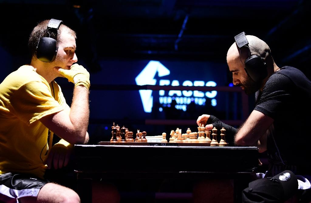 Checkmate or knockout Chess boxing lands punch