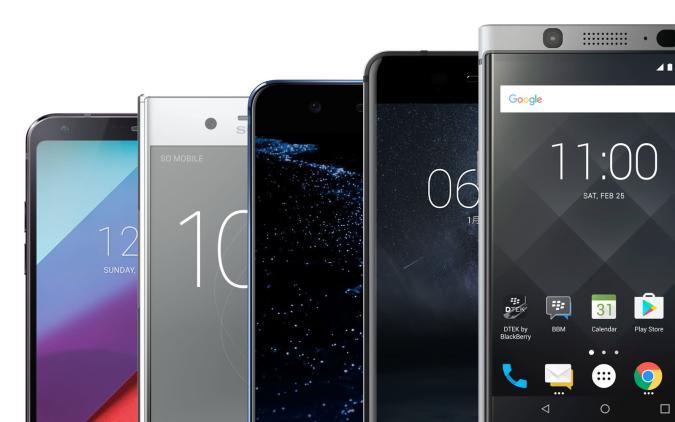 Aquí tienes los mejores teléfonos del MWC 2017 enfrentados