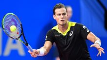 Maple syrup-drinking Pospisil stuns top seed Medvedev