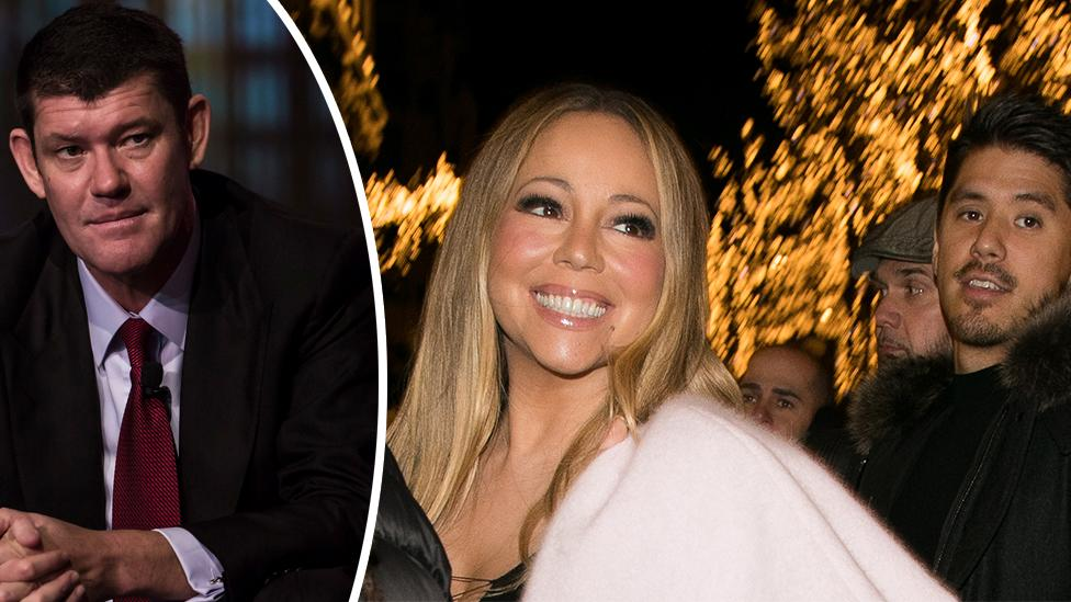 Mariah Carey exposed dirty dancing with boyfriend while engaged to James Packer