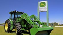 Deere Strong on Farm Income, Construction Segment a Sore Spot