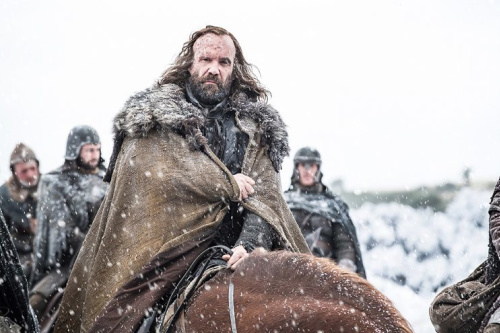 Rory McCann as Sandor 'The Hound' Clegane in HBO's Game of Thrones . (Photo Credit: HBO)
