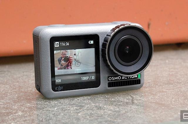 DJI's Osmo Action camera is down to $250 at Amazon and Best Buy