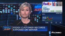 Fedex customer records exposed on server
