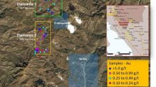 Colibri Announces Grab and Channel Samples Taken at Diamante Gold and Silver Project - Assays as High as 1.195 g/t Gold, 837 g/t Silver, and 6.87% Zinc