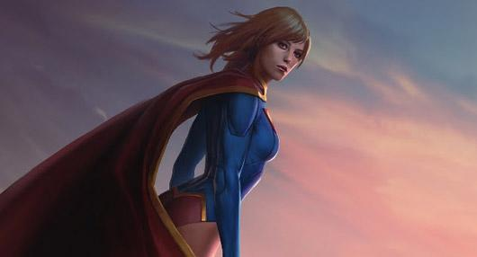 Supergirl lands in Infinite Crisis today