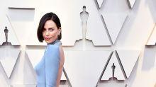 Everyone's loving Charlize Theron's new dark hair at the Oscars