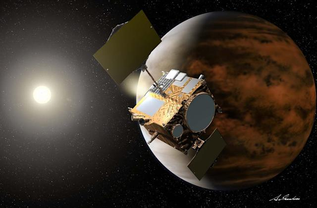 Japan's Venus probe is about to take another shot