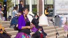 'Walk A Mile In A Ribbon Skirt' event educates on prejudice against Indigenous women