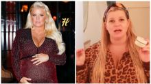 'Bloated' Jessica Simpson trolled for pregnancy weight gain