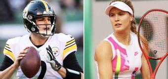 Eugenie Bouchard 'pretty serious' with NFL star