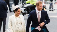 El bebé de Harry y Meghan batió un récord de la realeza (y aún no ha nacido)