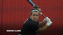 Elite softball players adapt to life in a bubble