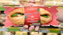 Morrisons has launched a Christmas sandwich wrapped in Yorkshire pudding and now we're hungry