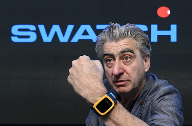 Swatch plans multiple smartwatches, but they'll be simple