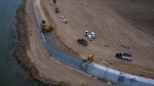 Part of Trump's border wall at risk of collapse just months after it was built