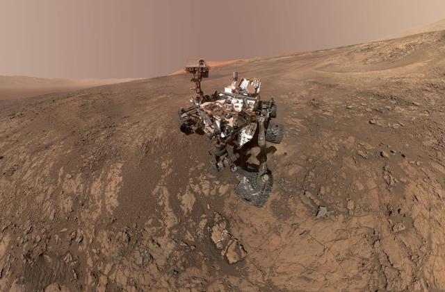 NASA just witnessed its biggest methane gas emission on Mars