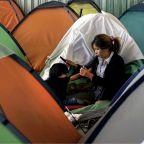 Several members of migrant caravan have reached the US-Mexico border to seek asylum