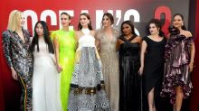 Rihanna, Sandra Bullock and Anne Hathaway lead the style stakes at Ocean's 8 US premiere