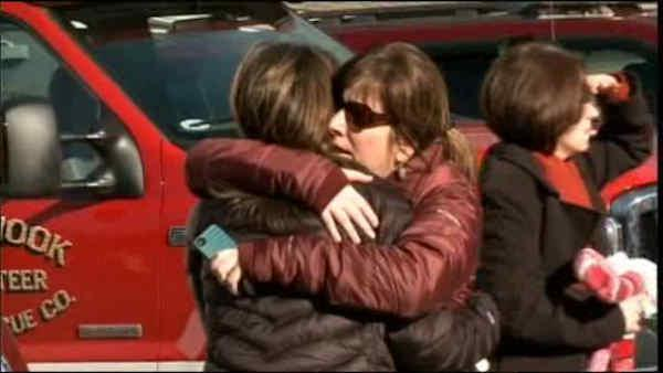Families learned tragic news at firehouse