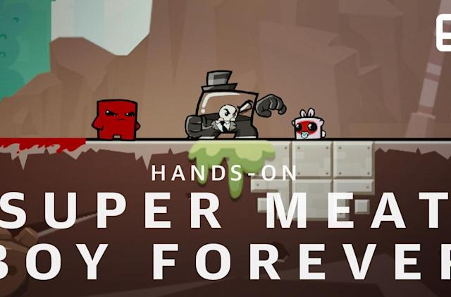 A chat with 'Super Meat Boy Forever' creator Tommy Refenes