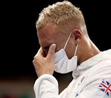 Ben Whittaker takes off silver medal in disgust during boxing ceremony: 'I felt embarrassed'