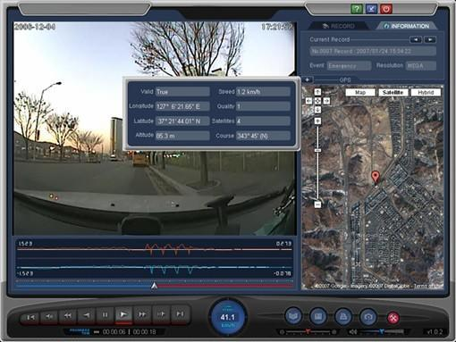GPS-equipped Car Camera Voyager Pro logs fender benders