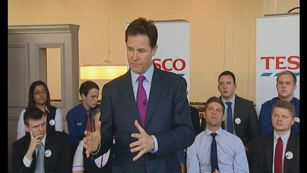 Clegg: Government straining sinews over energy bills