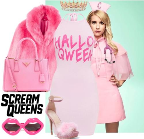 DIY Scream Queens Halloween costume