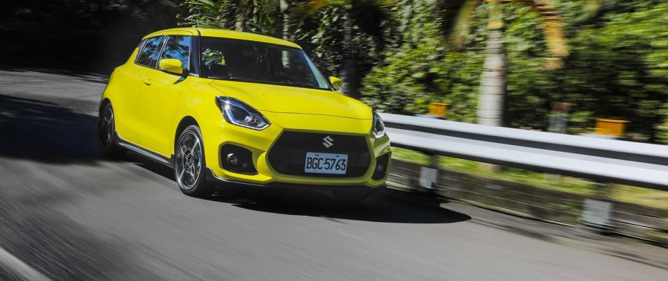油電渦輪小鋼砲首選!手排樂趣大躍進|Suzuki Swift Sport