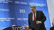 US attorney general William Barr says Americans should accept security risks of encryption backdoors