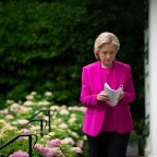 We caught up with Hillary Clinton. Her message for the nation right now