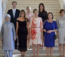 NATO spouse photo includes a male leader's husband for the first time