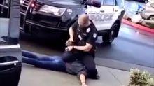 華盛頓女示威者遭警察跪頸