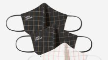 Everlane's face masks now come in a new pattern for fall — get them before they sell out again