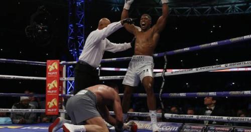 Boxe - Lourds - Championnat IBF-WBA : Anthony Joshua vainqueur de Vladimir Klitschko au 11e round