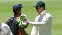 Mitchell Johnson gives Kohli a whack