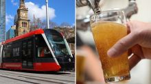Pub to pour 30,000 free beers after losing Sydney tram bet