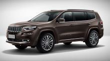 Jeep Grand Commander three-row crossover SUV revealed in Beijing