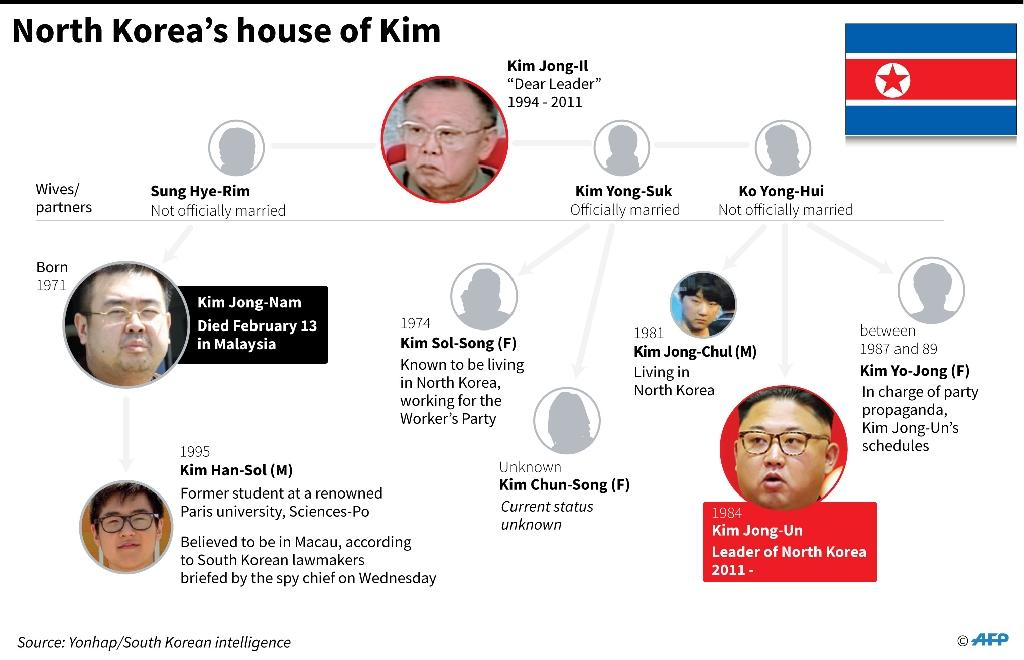 North Korea's house of Kim (AFP Photo/John SAEKI)