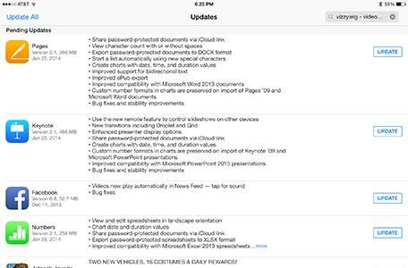 iWork restores missing features and other news from Jan. 23, 2014