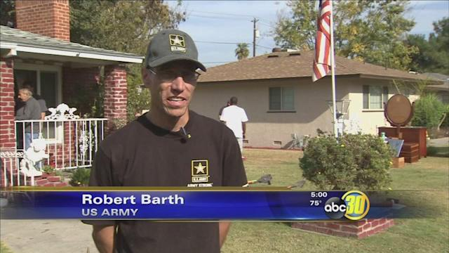 Help for a 92- year-old Valley veteran victimized in a vicious attack