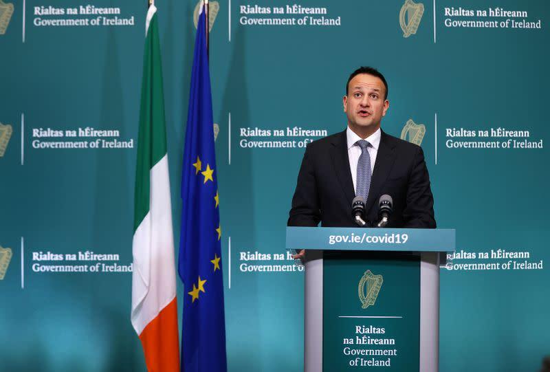 Irish govt extends lockdown until May 5 - PM Varadkar